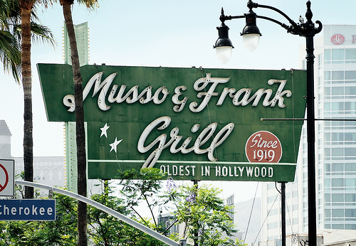 Weho daily serial prank caller causes closure of hollywood blvd - Musso and frank grill hollywood ...