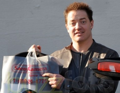 Weho Daily » Seth Rogen and Brendan Fraser at Samy's Camera