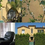 Images from the website of the sober living facility where Lindsay Lohan is staying.