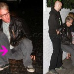 Andy Dick Falling Down at Chateau Marmont (photos: X17, click for full images)