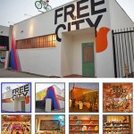 Free City on Highland Avenue (photos: Racked LA, click for more)