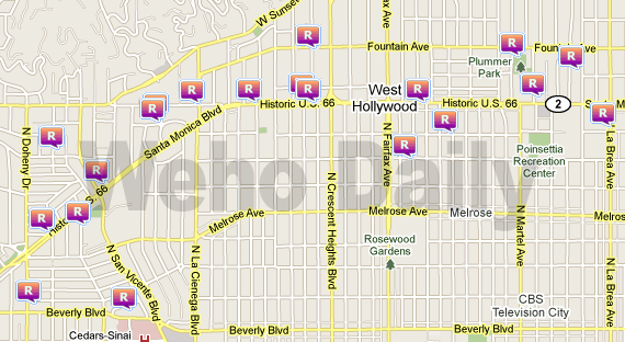 weho daily  20 robberies over 30 days reported in west hollywood