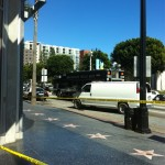 LAPD bomb quad on Vine in Hollywood during the countdown to the Oscars. (Photo: Liz Edgar for Weho Daily)