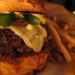 The late night burger at Eveleigh. (Photo: L.A. Weekly)
