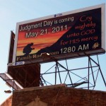 Judgment Day billboard in West Hollywood (photo: Bradley Jacobson)