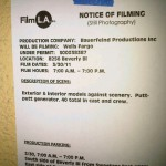 Filming Alert: Wednesday Shoot for Wells Fargo on Beverly