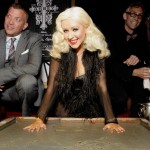 The Abbey's Debut And Gay Walk Of Fame Honoring Christina Aguilera And David Cooley.