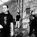 Members of the band Feedbach including Fred Ordornez (front), Clif Chavez and Jeff Ochoa.