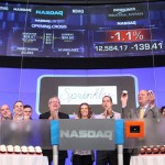 Sprinkles Founders and Cupcake Wars Stars Ring Opening Bell at Nasdaq.
