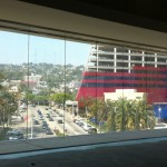 View from the West Hollywood Library under construction.