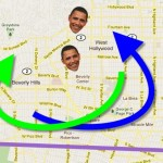 Your best bet to avoid traffic related to President Obama's visit is to give his known destinations a wide berth.