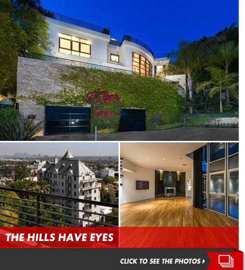 Dr. Phil's house above the Sunset Strip