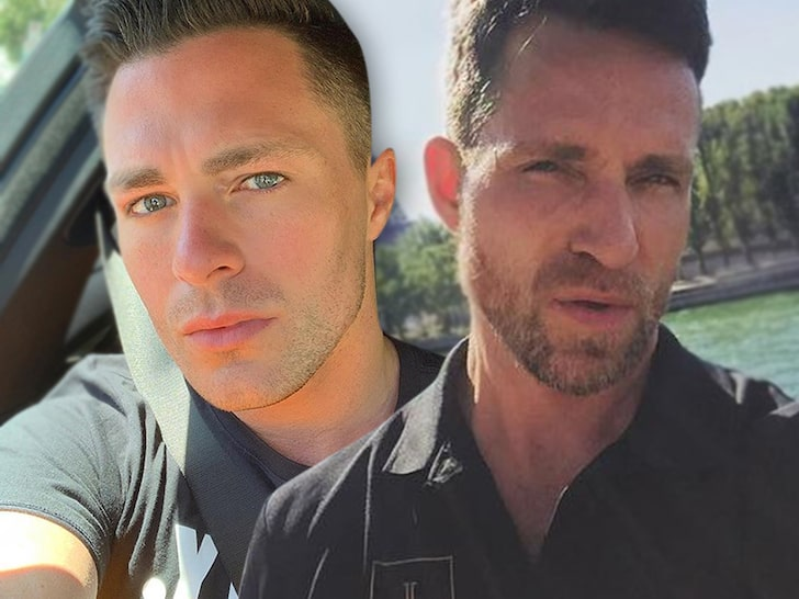 Colton Haynes and Jeff Leatham Settle Divorce Very Amicably