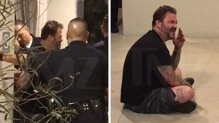 Bam Margera Arrested in Bizarre Hotel Lobby Scene After Leaving Rehab