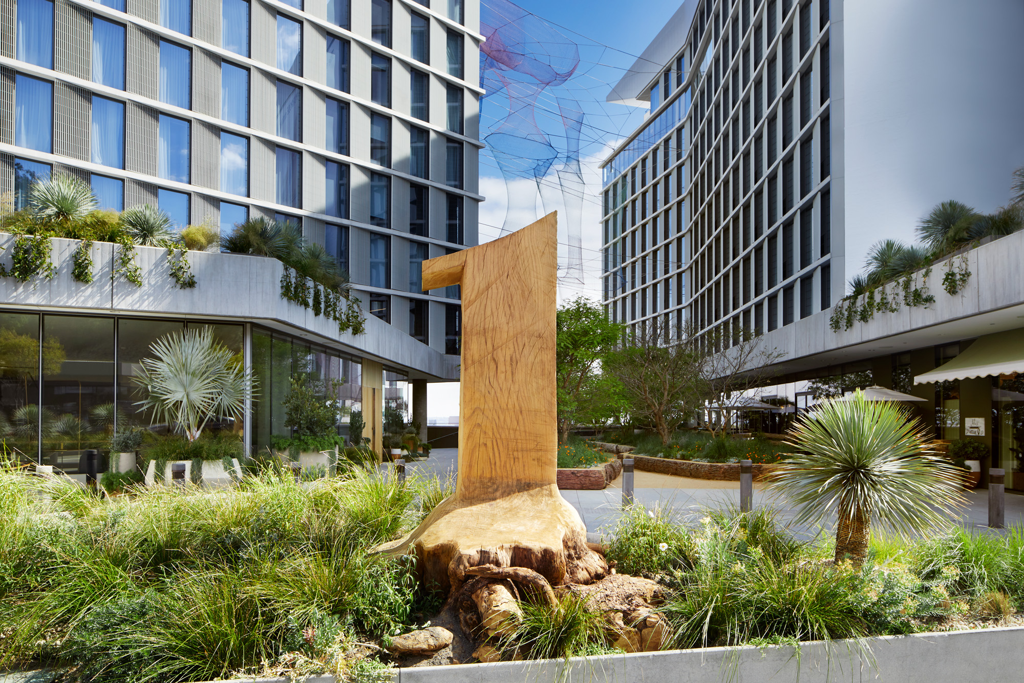Out Land: 1 Hotel West Hollywood's Exterior By Rios Clementi Hale Studio