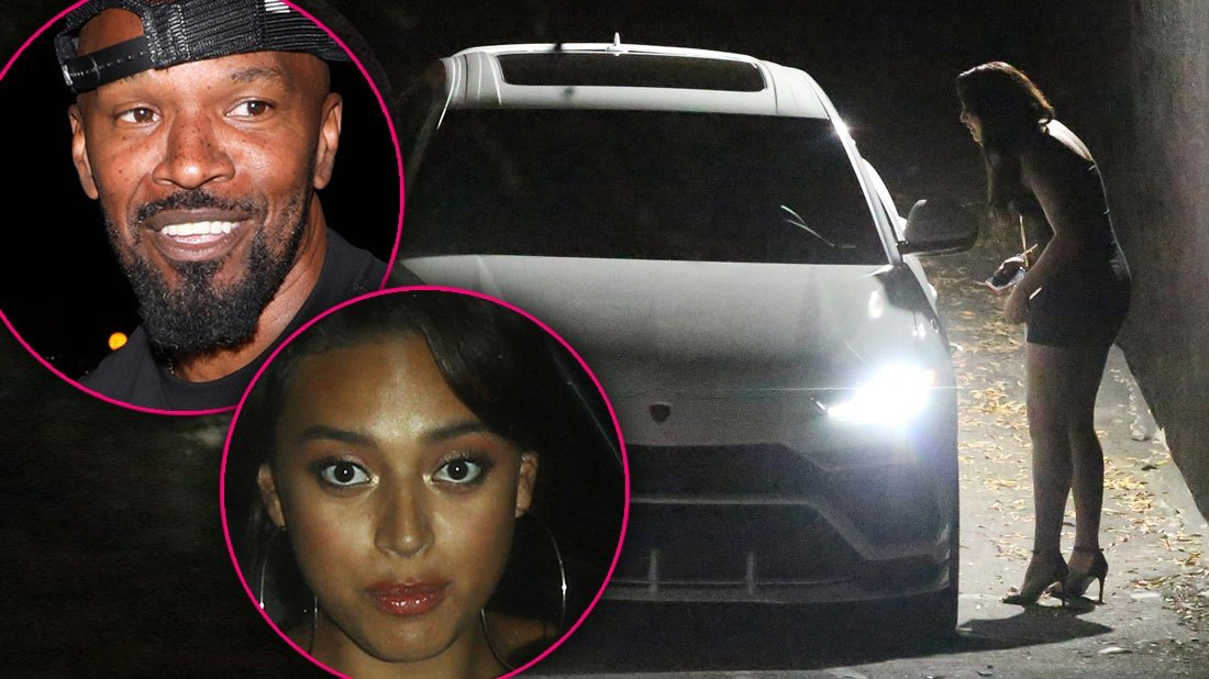 Jamie Foxx Caught With Sela Vave In Secret Late Night Romp