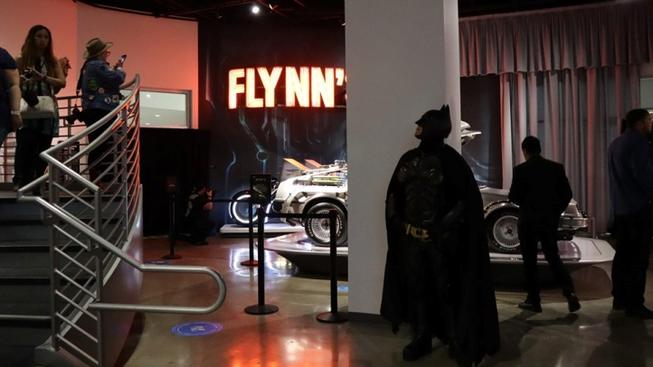 Cape-up for Cosplay Day at the Petersen Automotive Museum