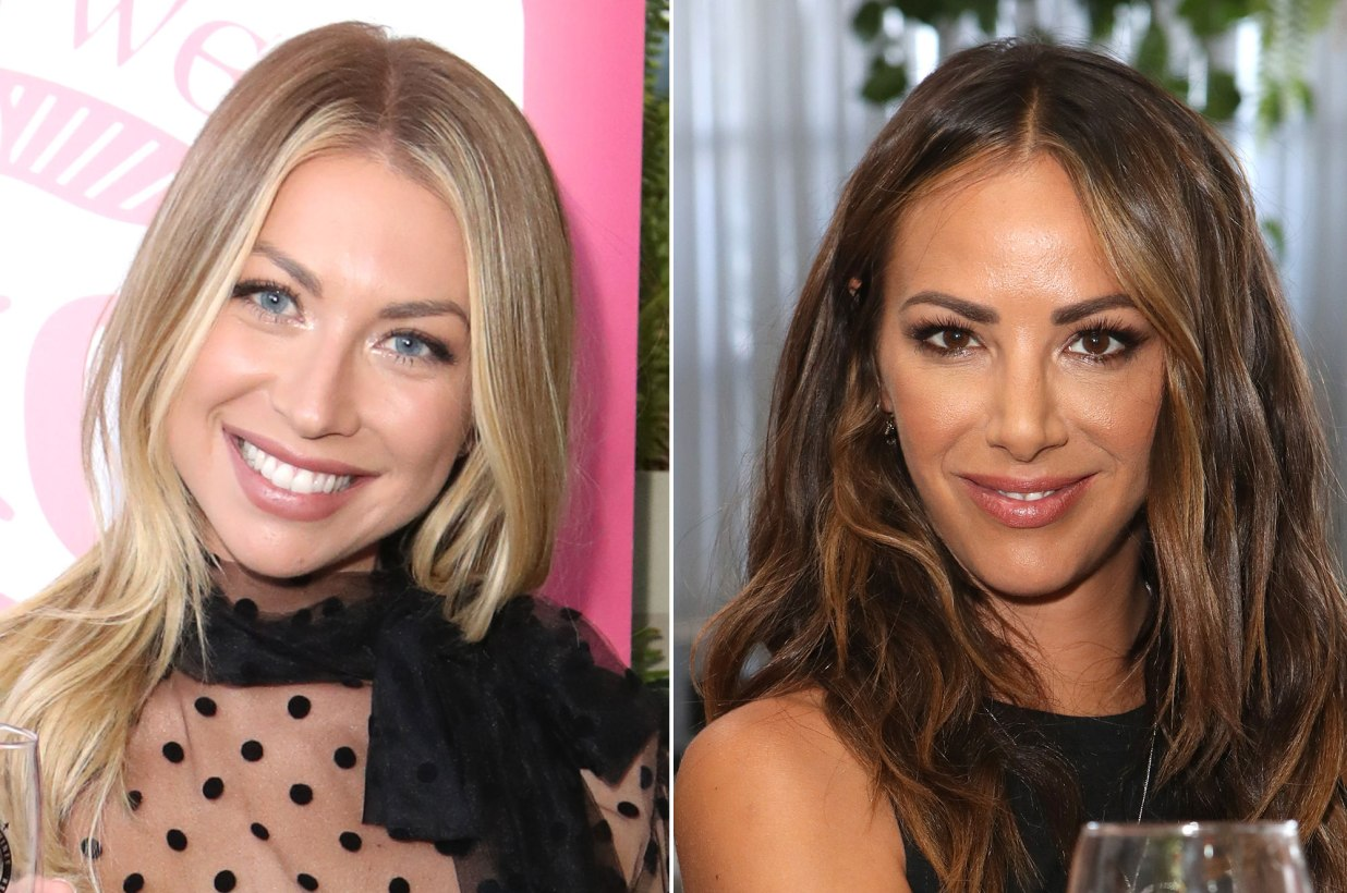 What's going on between Stassi Schroeder and Kristen Doute?