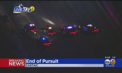 3 In Custody Following Pursuit From West Hollywood To Castaic