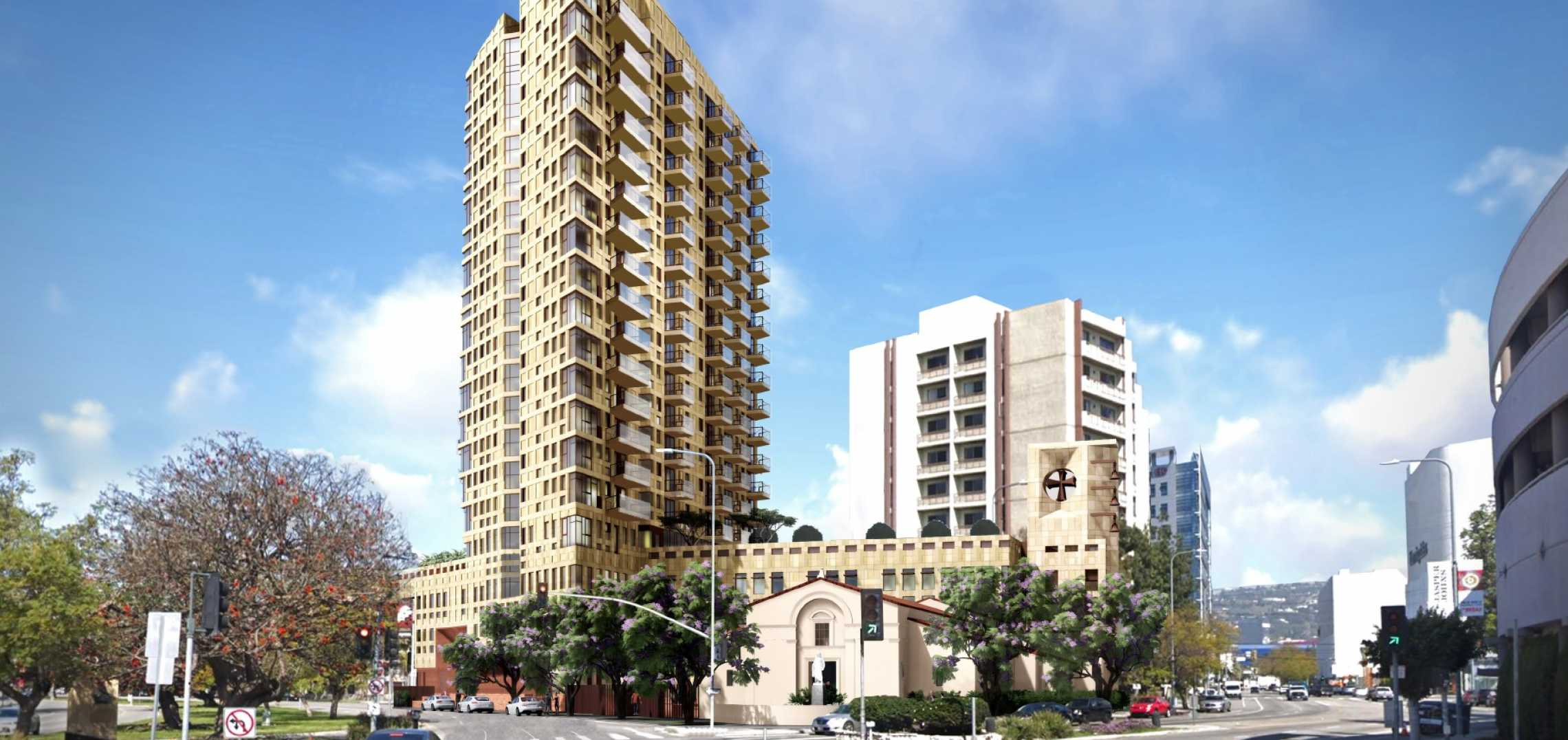 Beverly Center-Adjacent Apartment Tower Slated to Break Ground in 2021