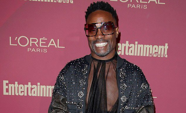 Billy Porter at Entertainment Weekly's Pre-Emmys soiree