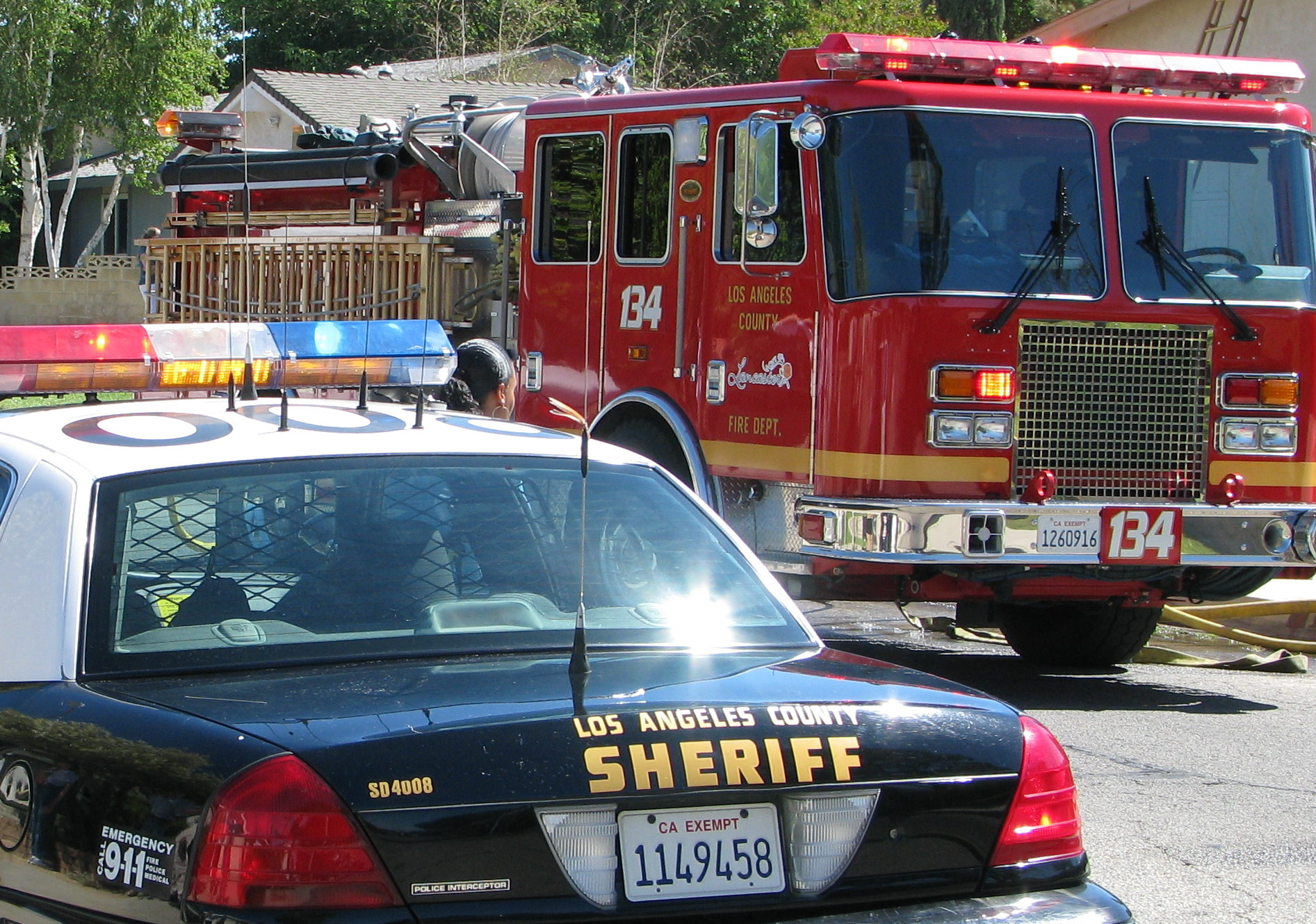 Sheriff and Fire Department (credit: Rennett Stowe/cc)