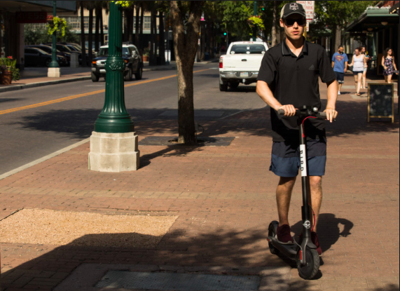West Hollywood Sheriff's Deputies Have Been Ticketing Illegal Scooter Riders