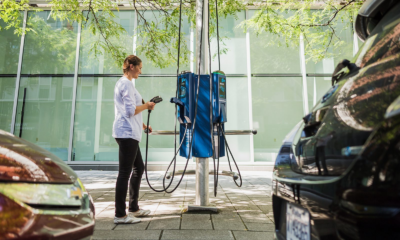 Curbside Vehicle Charging