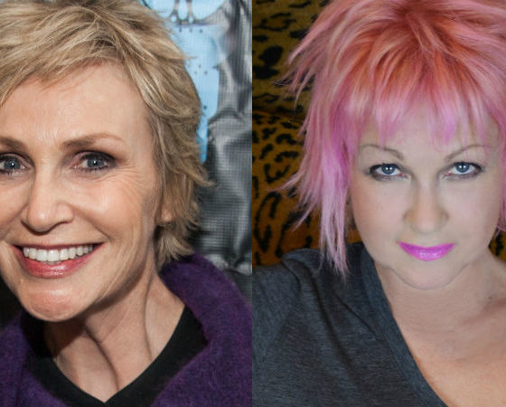 Jane Lynch and Cyndi Lauper unite for a 'Golden Girls' update for Netflix