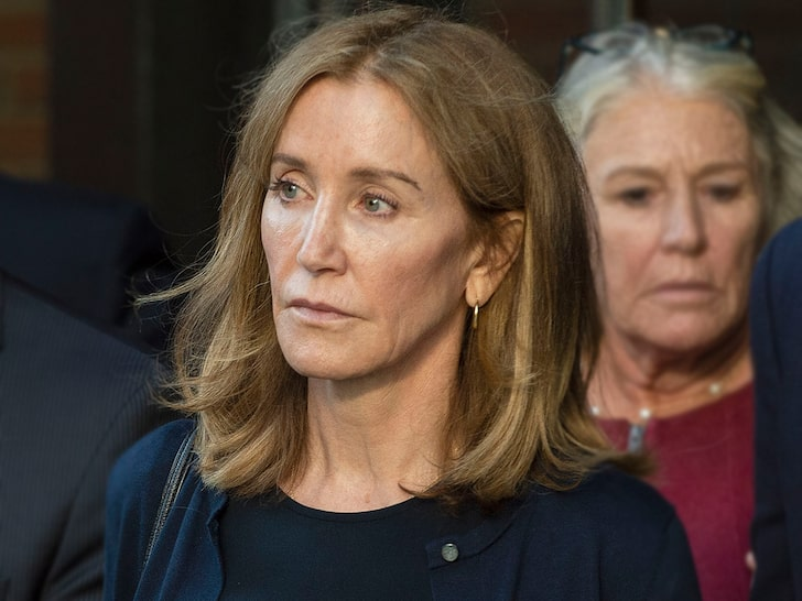 Felicity Huffman Turns Herself In To Prison To Serve College Bribery Sentence