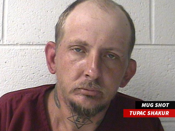 Tupac Shakur Arrested in Tennessee, But It's a White Man