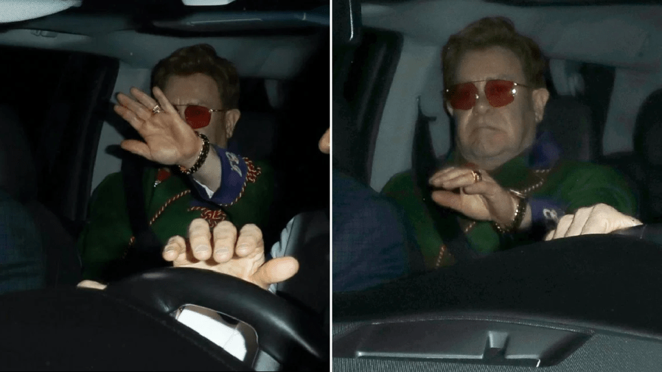 Sir Elton John tries to go under the radar following 'mentally ill' comments about Michael Jackson