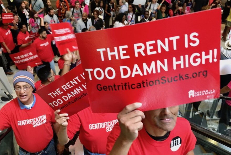 Housing Is A Human Right Criticizes Insufficient AB 1482 Rent-Gouging Bill