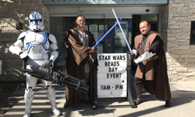 Star Wars Reads event at LA Public Library