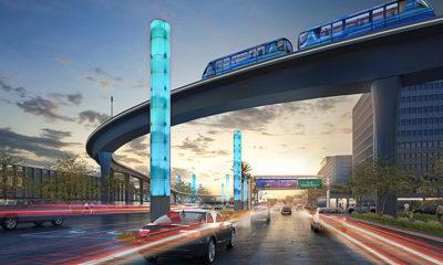 Images: Opening in 2023, Here's What LAX's Automated People Mover Will Look Like