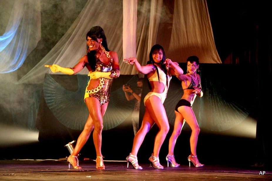 The history of drag in South Africa still plays out at modern pageants