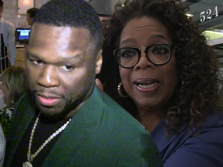 50 Cent Slams Oprah Only 'Going After Black Men' Accused of Sexual Assault