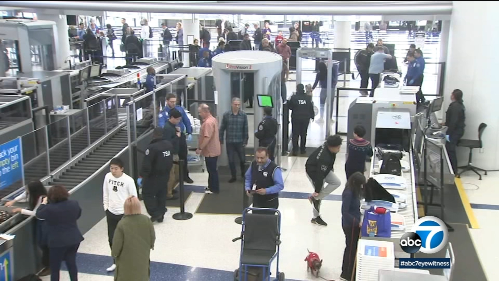Millions expected to fly out of LAX through holiday season
