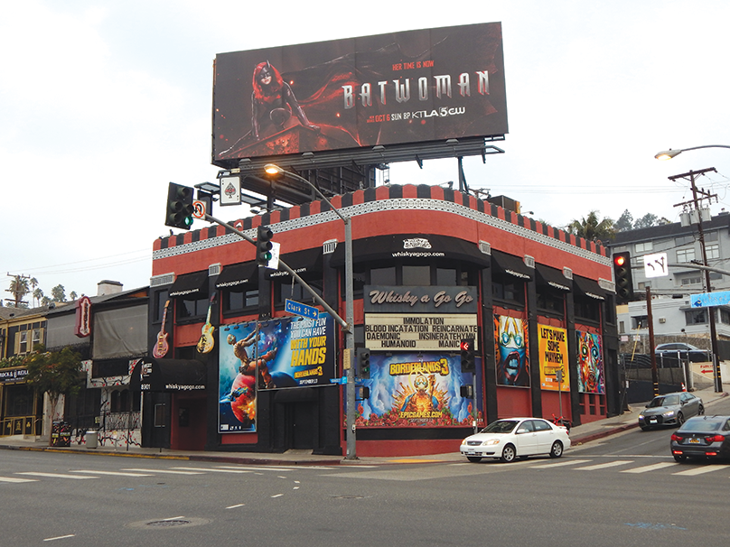 Whisky to stay stay on Sunset Strip