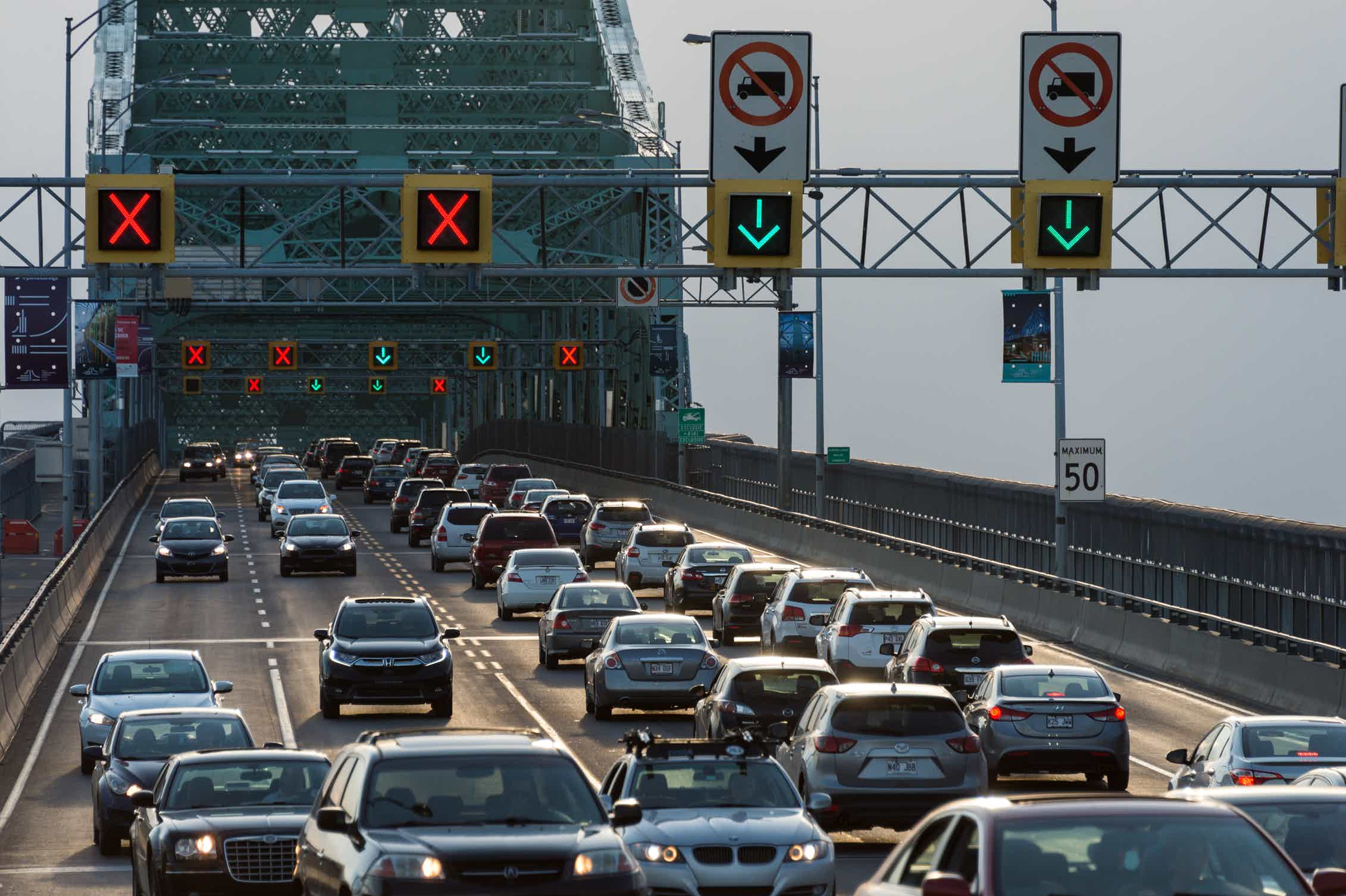 Remove car lanes, restrict vehicles and improve transit to reduce traffic congestion