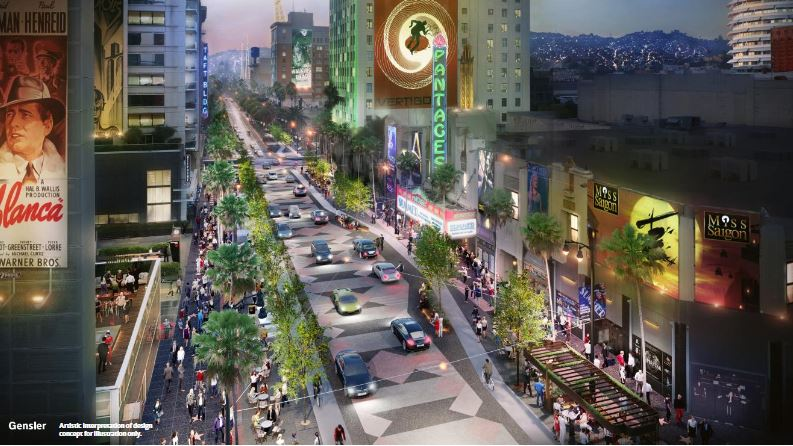 City Council Proposes Wider Walkways, More Outdoor Dining For Hollywood Makeover