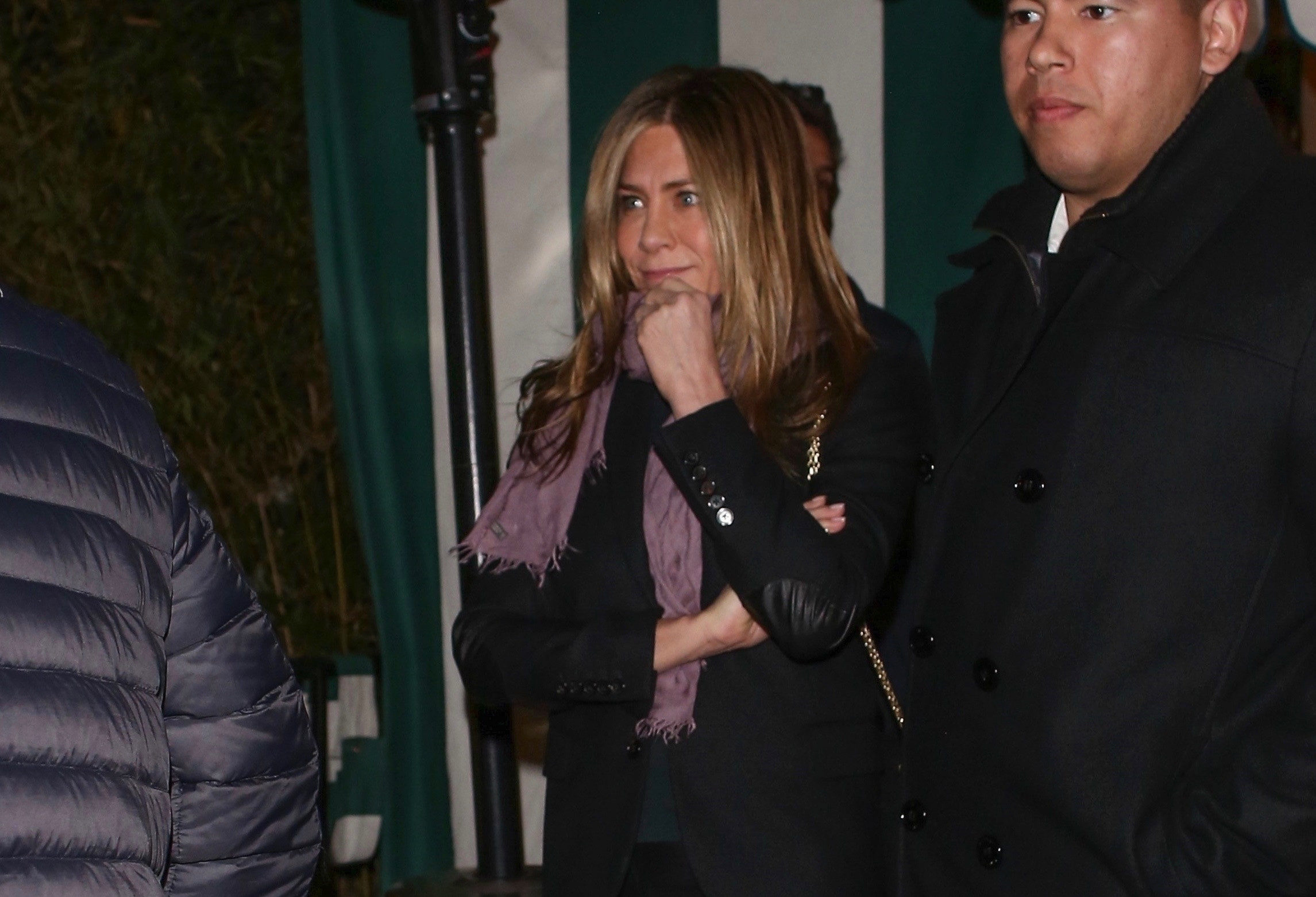 Jennifer Aniston and Courteney Cox enjoy girls' night out in West Hollywood after Matthew Perry's cryptic Friends tweet