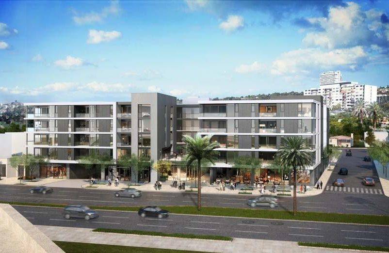 Construction Begins for Mixed-Use Development at 9001 Santa Monica Boulevard