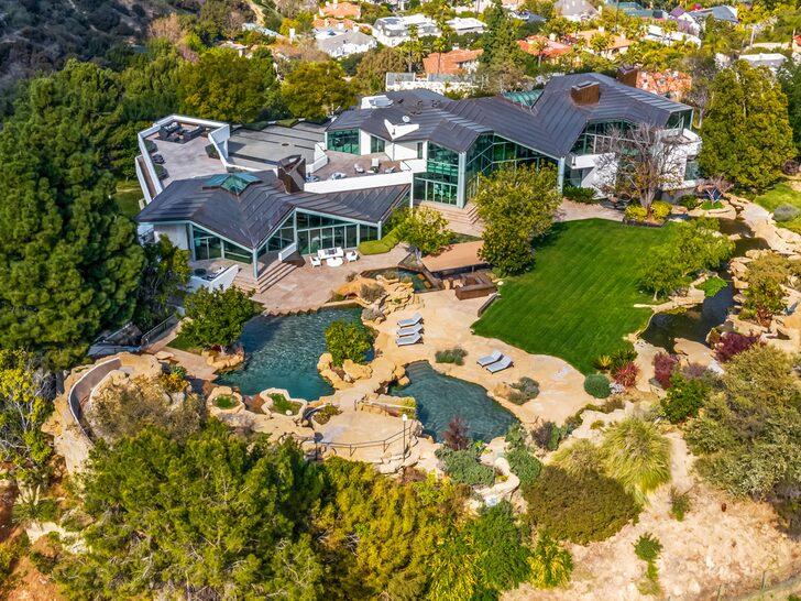 Pharrell Williams Lists $17 Million Beverly Hills Estate