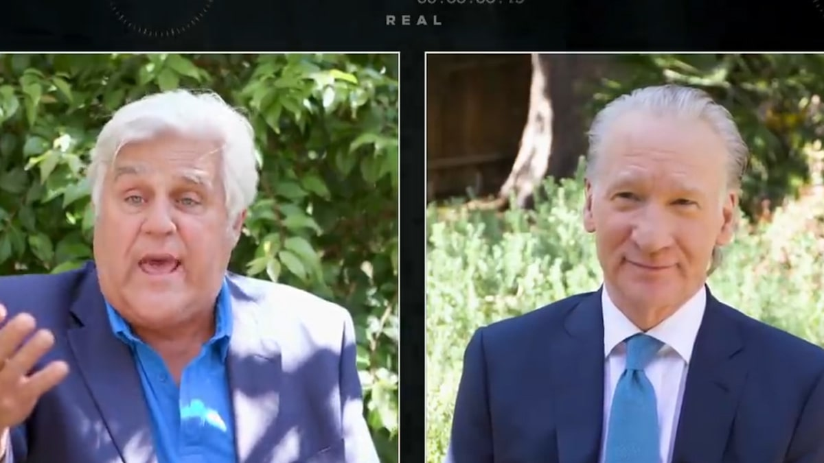 Jay Leno Mocks Jussie Smollett and Lori Loughlin on 'Real Time' with Bill Maher