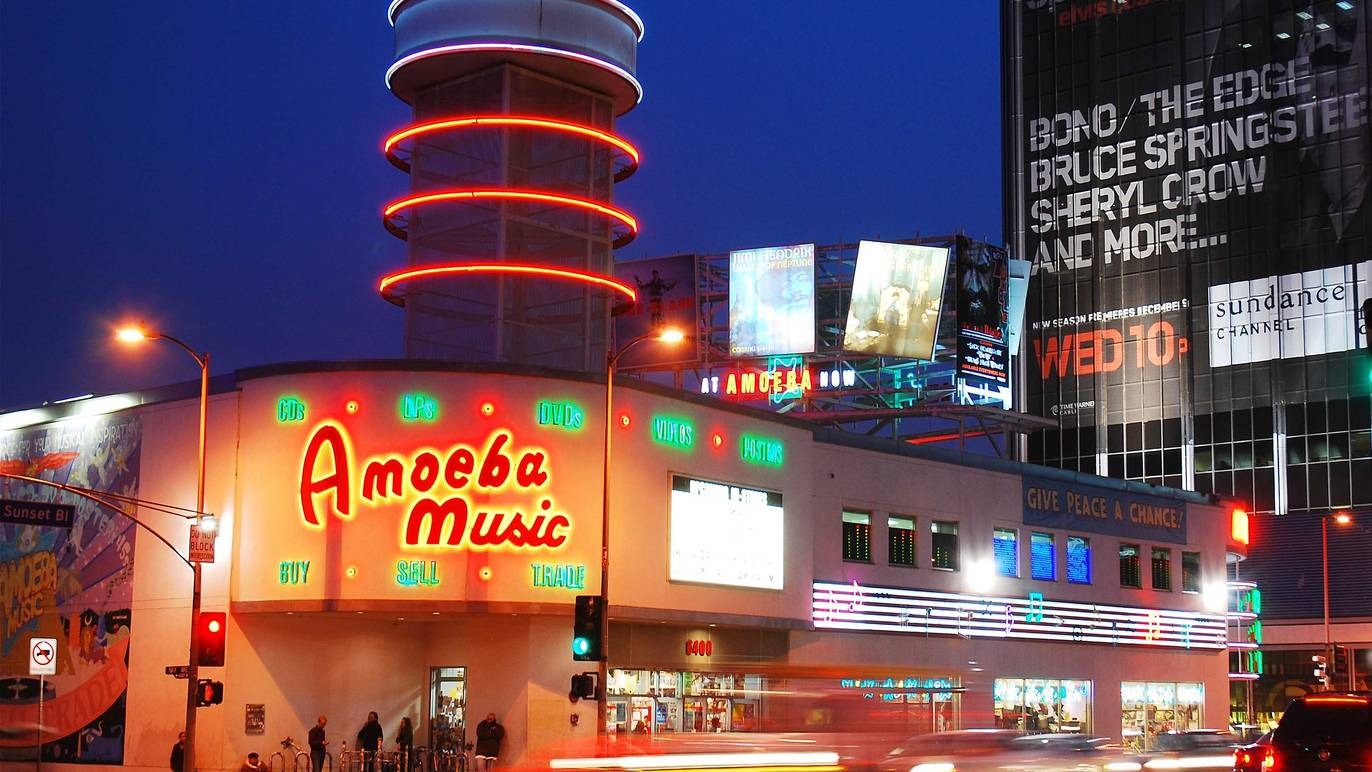 Amoeba Music won't be reopening its original Sunset Boulevard store