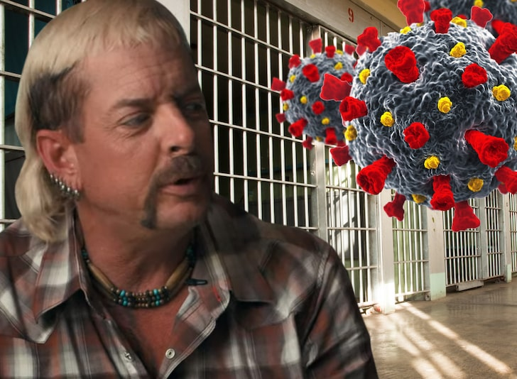 Joe Exotic Prison Has 2nd Highest 'Rona Rate